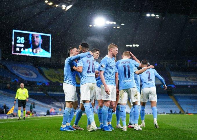 Man City oo iska xaadirisay finalka Champions League kaddib markii ay garaacday 10 xiddig oo kooxda PSG ah… +SAWIRRO