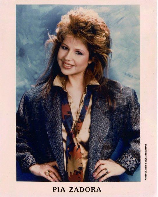 Happy birthday to American actress and singer Pia Zadora, born May 4, 1953.