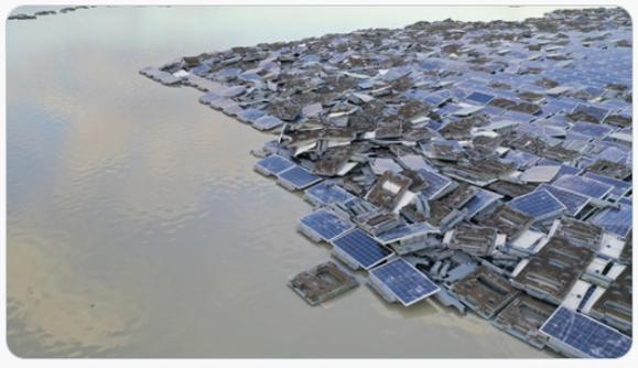 再生エネルギーと言われる太陽光パネルは10年、20年以内にゴミの山になり、国土を破壊します。 発電量もゴミに比べて少ないのです。害が多い。多くがメイドインチャイナ。脱原発派がつくりだすゴミの山、しかも日本経済の足を引っ張っています。「脱原発の罠」よサヨウナラ。