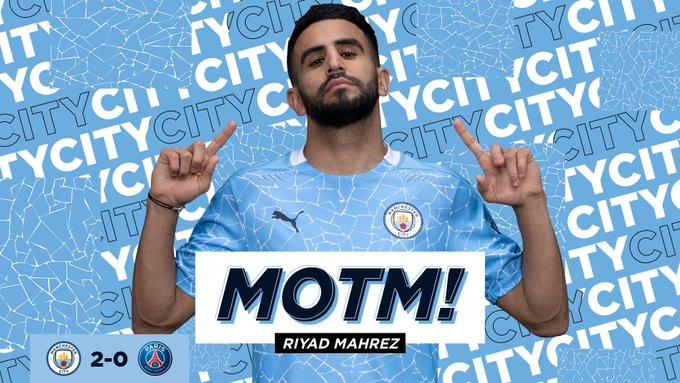 Manchester City in Final Champions League: Super Mahrez 2 Goals