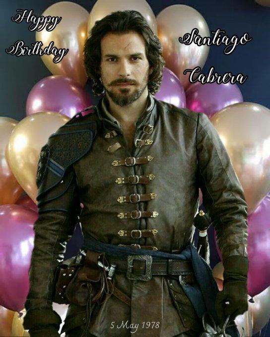 Happy Birthday Santiago Cabrera!   My Edit
