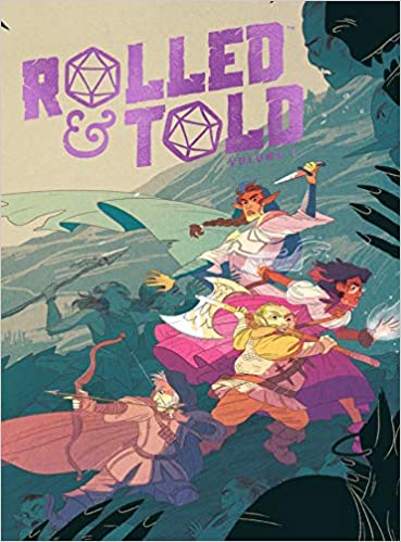 Rolled & Told Vol. 1  33% off and part of the big buy one get one half off book sale.