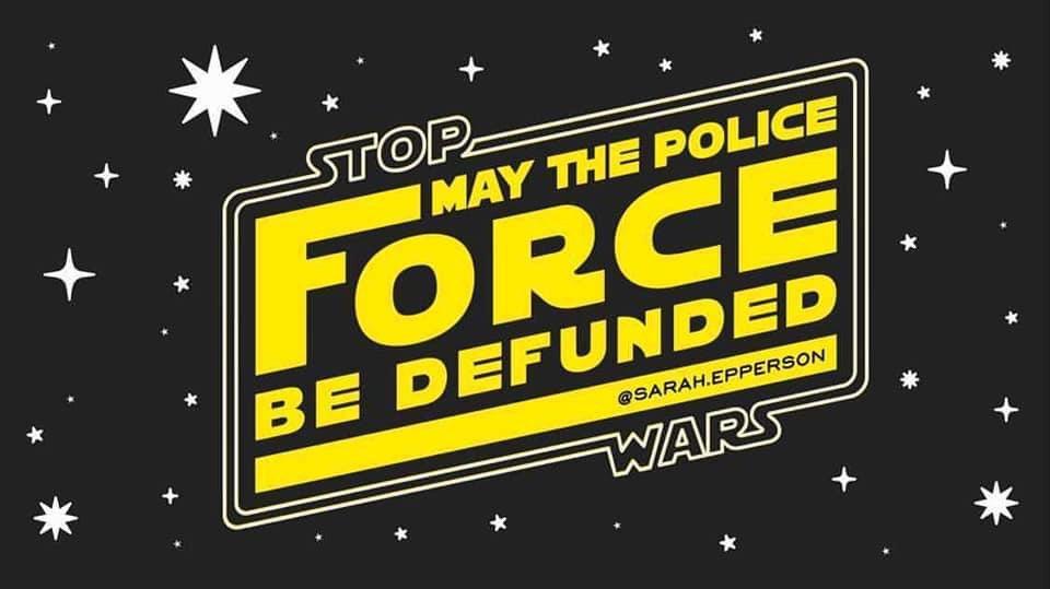 @BLMLA's photo on #DefundThePolice