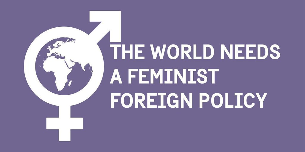 🇸🇪🇨🇦🇫🇷🇱🇺🇲🇽🇪🇸, the first six countries to adopt a #FeministForeignPolicy, met today to discuss how to put feminist approaches at the center of the work of the @UN. Key points highlighted:  🔸Gender-responsive leadership 🔸Alliances & resources 🔸Intersectionality https://t.co/EwXVFtcAef