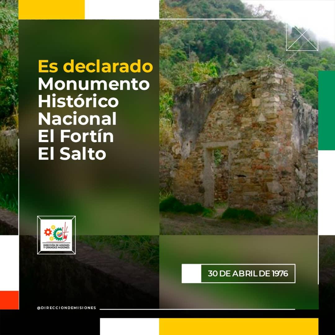 #04deMayo // #30deAbril 1976. El fortín El Salto, o La Trinchera, es parte de los 5 fuertes que se alzaron en el llamado Camino de Los Españoles, entre La Guaira y Caracas. Una fortificación en torno a la que creció la histórica ciudad-puerto. @NicolasMaduro @MervinMaldonad0