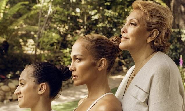 Jennifer Lopez, 51, shares three generations snap featuring mom Guadalupe, 75, and daughter Emme, 13 Photo