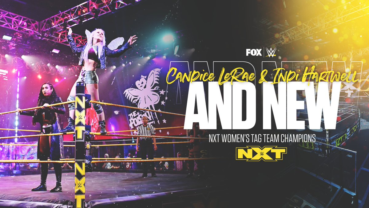 @WWEonFOX's photo on Indi