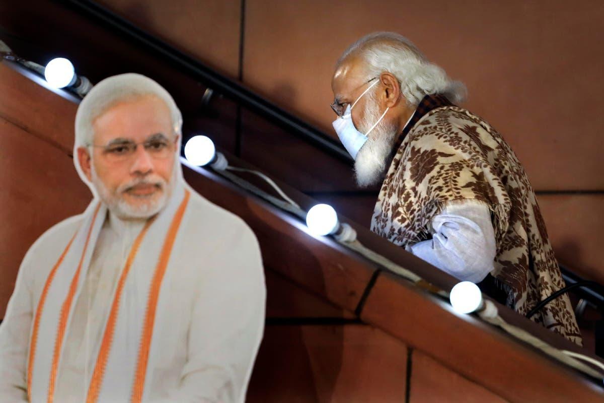 India's virus surge damages Modi's image of competence Photo