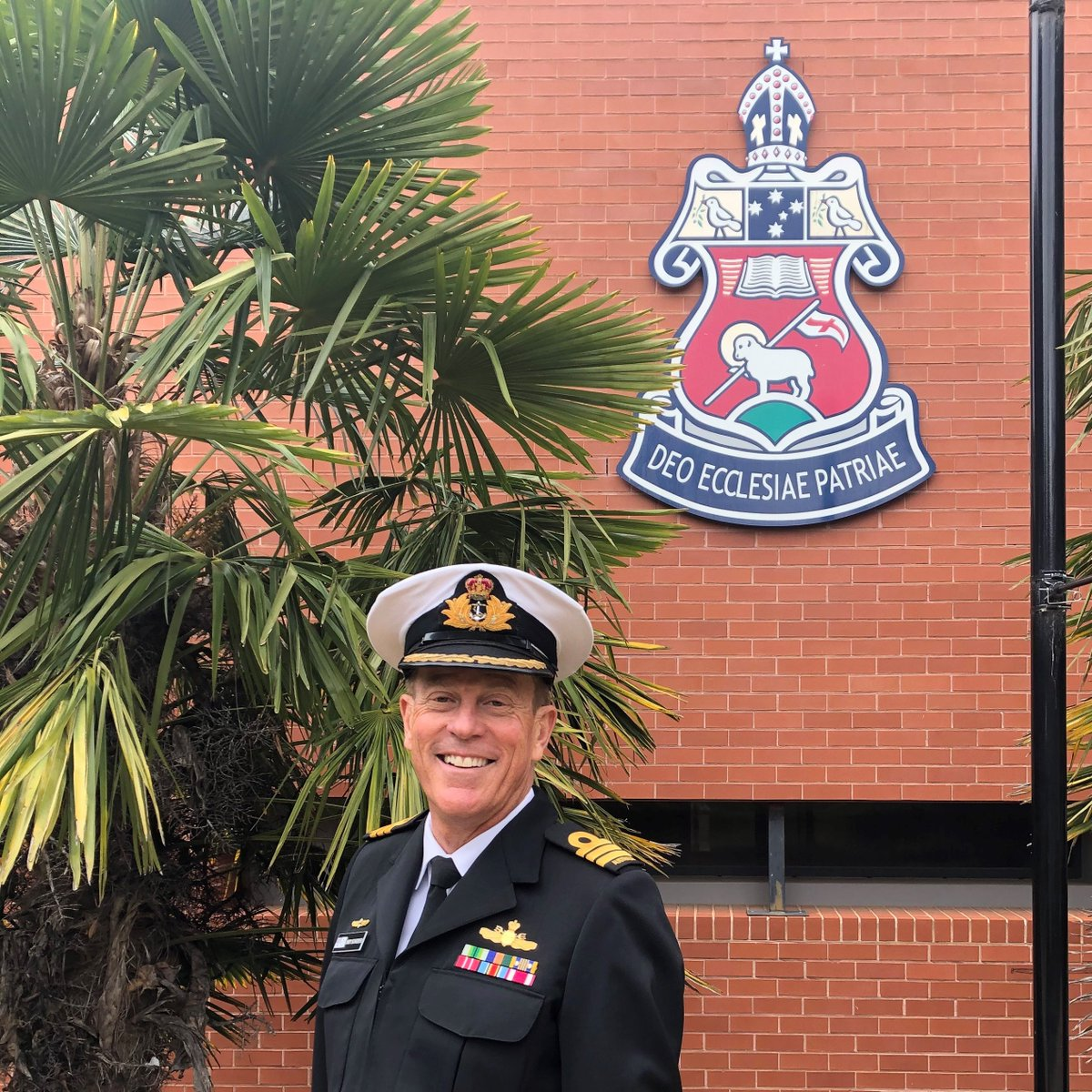 """A privilege for CGS Year 11 HSC Australian Studies students to hear from Australian War Memorial Navy Fellow, Commander Andrew Schroeder today about """"Australia's Place in the World; a maritime perspective."""""""