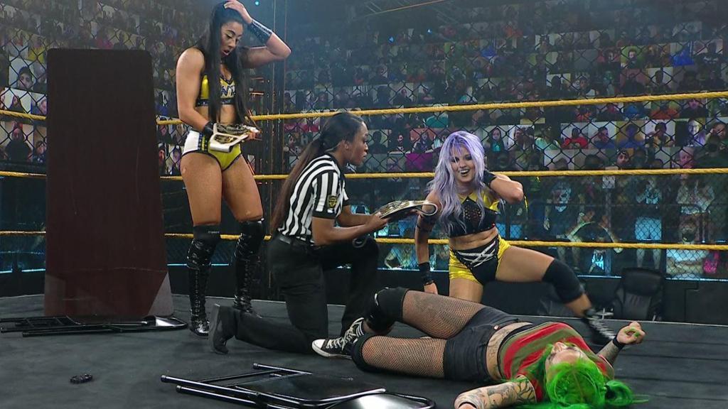 @WWENXT's photo on Indi