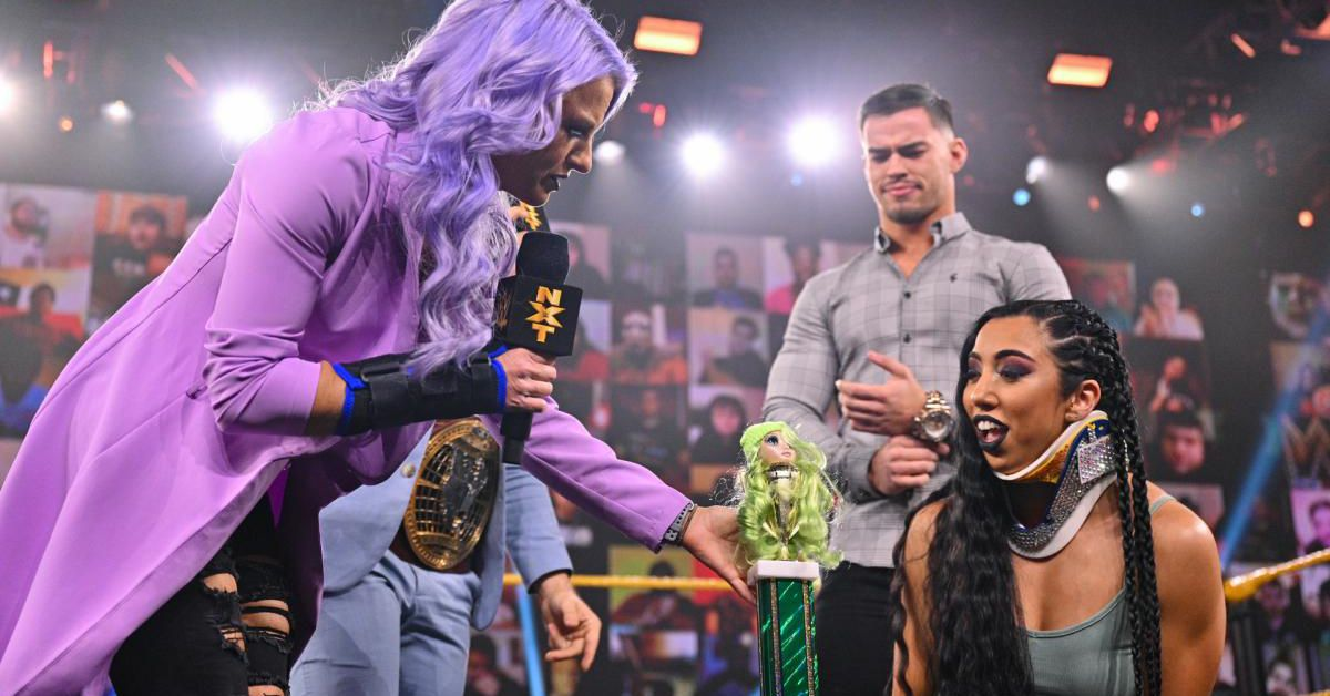 NXT recap & reactions (May 4, 2021): It's a street fight! Photo