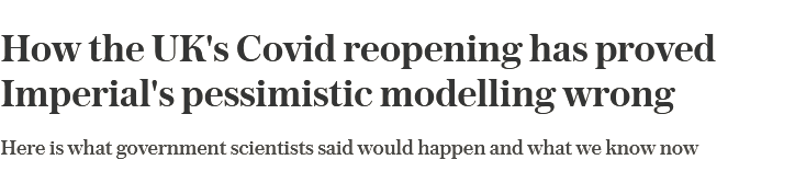 'The models predict.....'  is the most dangerous and expensive phrase in English  Always, always, always ask how models were tested against reality and how good their track record of forecasting has been.  Always. No exceptions  But don't hold your breath https://t.co/asn0B0c5HD https://t.co/pqa7dYscFf