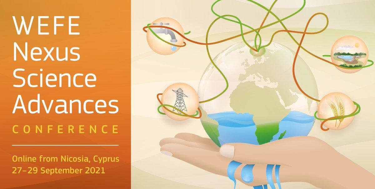 Join the online #WEFE #Nexus Science Advances Conference 27 - 29 September. Great event by @EU_ScienceHub @UfMSecretariat @PrimaProgram @CyprusInstitute More info👉 https://t.co/7WTC5DXxS8