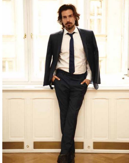 Happy birthday to Santiago Cabrera!  Hope the bunch is being good to