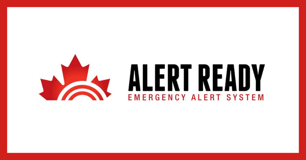 test Twitter Media - Are you #AlertReady? A test of the public alert system will occur today. Alert Ready delivers critical and potentially life-saving alerts to Canadians.   For more information and to find out if your region will receive an alert, visit https://t.co/V8kgzkQfFw. https://t.co/JluNU3XJxK