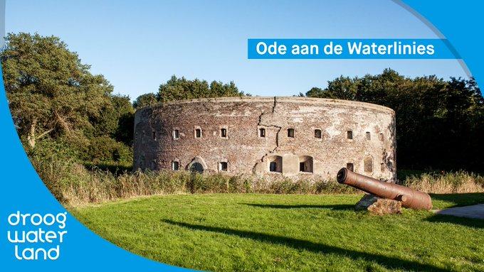 Vandaag start het themajaar #OdeAanHetLandschap, en in het bijzonder die van de Hollandse Waterlinies. @waterschapagv helpt mee om dit mooie erfgoed te behouden. Wij brengen daarom deze 𝑶𝒅𝒆 𝒂𝒂𝒏 𝒅𝒆 𝑾𝒂𝒕𝒆𝒓𝒍𝒊𝒏𝒊𝒆𝒔. #OdeHollandseWaterlinies  👉https://t.co/G3uSbejazI