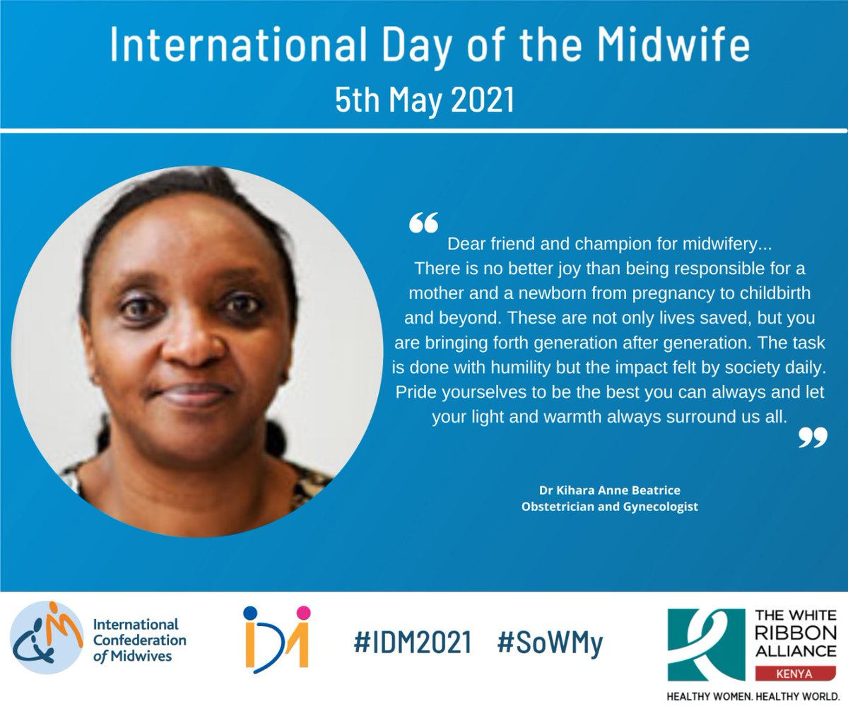 RT @WRA_K: Why #midwives Matter #IDM2021 #WhatMidwivesWant  #WhatWomenWant https://t.co/v19JGpR6Cr