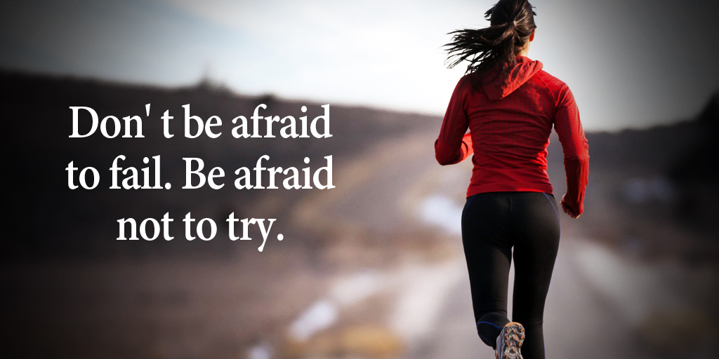 RT @tim_fargo: Don' t be afraid to fail. Be afraid not to try. #quote https://t.co/L2AHLxlME7