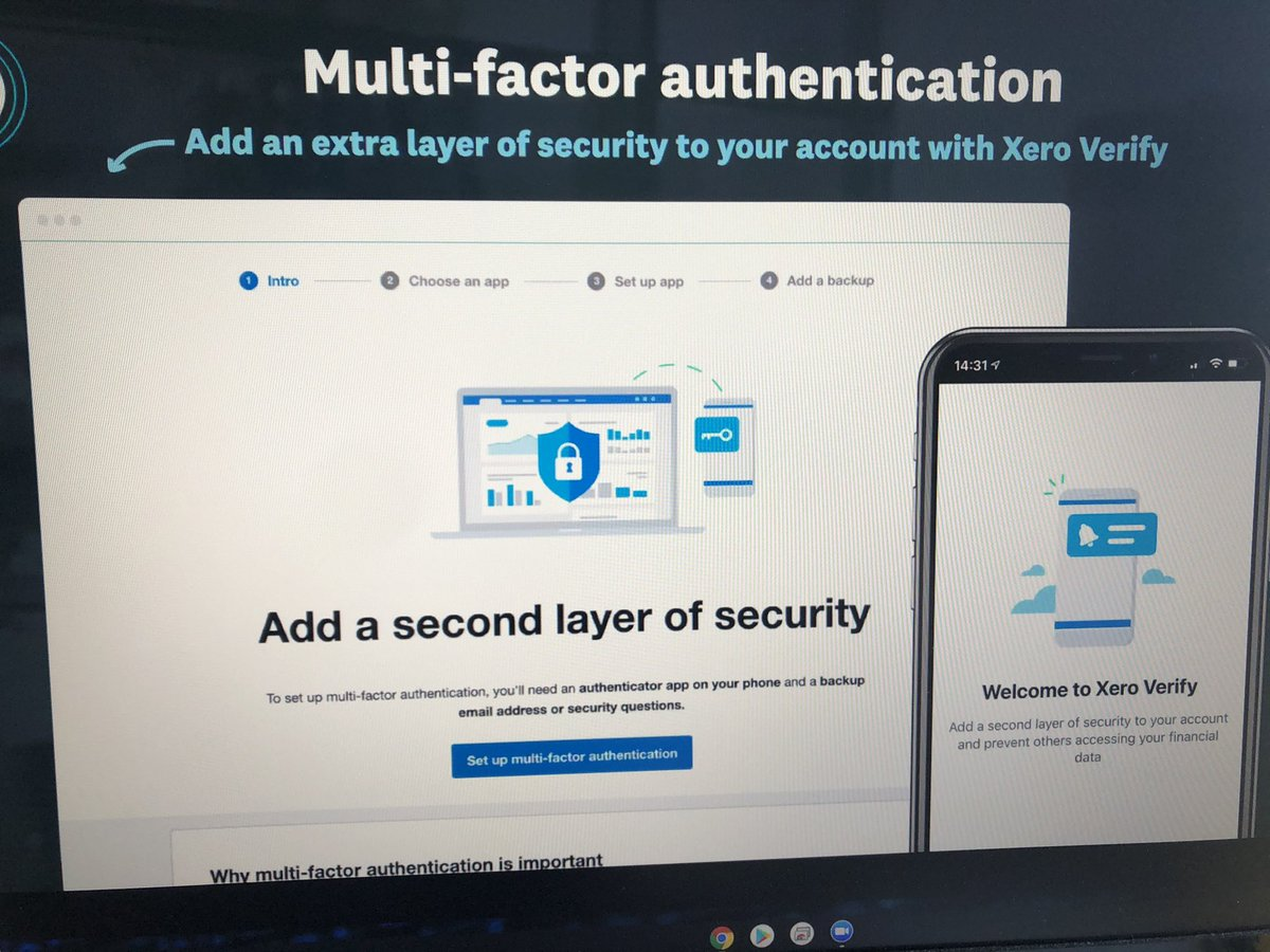 test Twitter Media - Excited to learn about @Xero Verify. Very soon it will be mandatory for all Xero users to set up 2 factor authentication. Online security is so important so this is brilliant news!! #XeroCertified https://t.co/4AqDrTaD5H