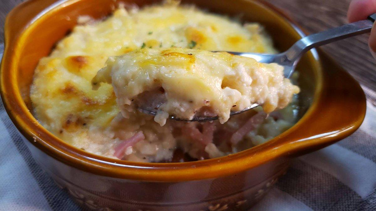 これならダイエット中でも安心して食べられそう!「豆腐」と「カップスープ」で作るグラタンレシピが話題に!