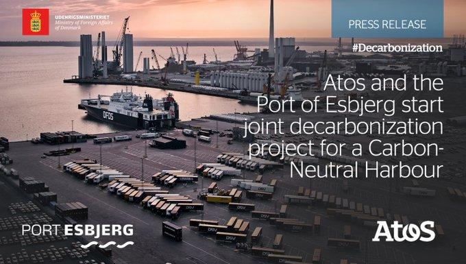 让我们为脱碳的未来驾驶!⛵️与Esbjerg港口,一个......