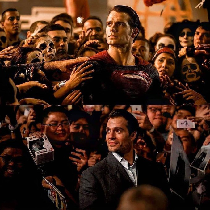 Happy 38th birthday to my (on and off-screen), Henry Cavill.