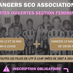 Image for the Tweet beginning: 🚨#Féminines #PortesOuvertes🚨  4️⃣ journées portes ouvertes