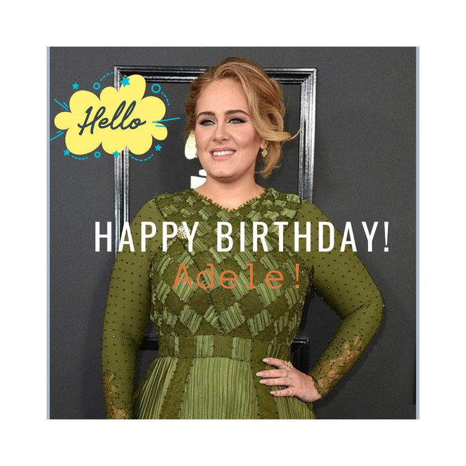 She\s celebrating her 33rd today! Happy Birthday