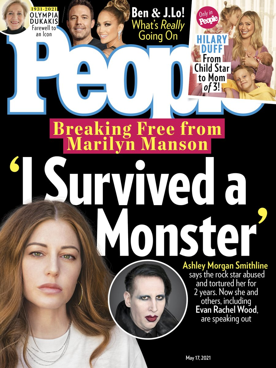 Marilyn Manson's Ex Ashley Morgan Smithline 'Thought He Was Going to Kill' Her During Abusive Relationship