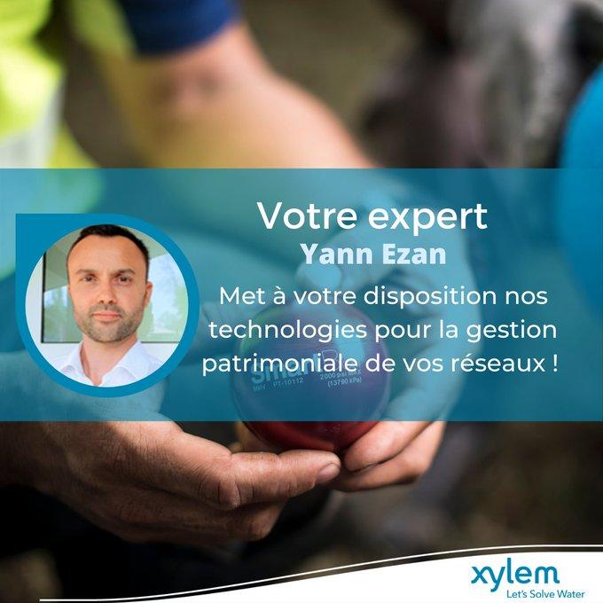 Vous cherchez des #solutions pour optimiser votre gestion patrimoniale des réseaux ? 💦  Notre expert Yann Ezan se tient à votre disposition pour vous...