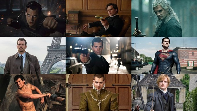 Mvs Happy birthday Henry Cavill  which role of his is your favorite?