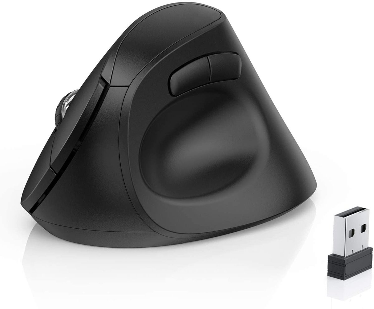 ad: $9.90 (53% off)   Wireless Bluetooth Vertical Ergonomic Mouse    Link0 Link0