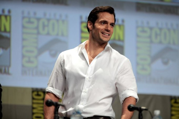 Wish you a very happy birthday most handsome men Henry Cavill