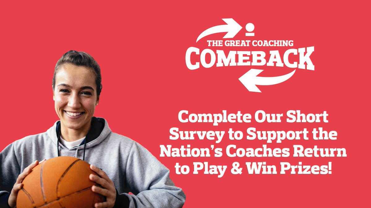 @_UKCoaching have launched a nationwide survey to understand what it is coaches need to return to play and support our nation, as sport and physical activity resumes.    Complete the short survey in 5-10 minutes – there's also prizes to be won >>> https://t.co/PDTT6WuTdh
