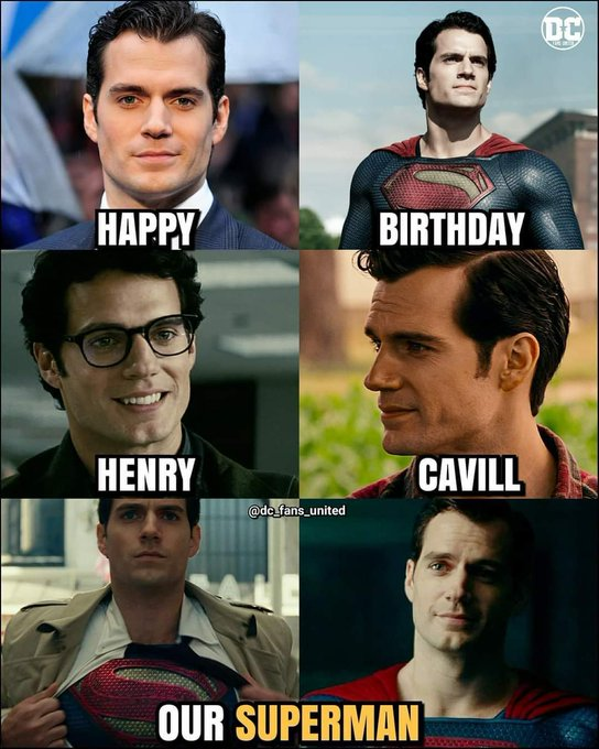 Happy birthday to Henry Cavill, the only one