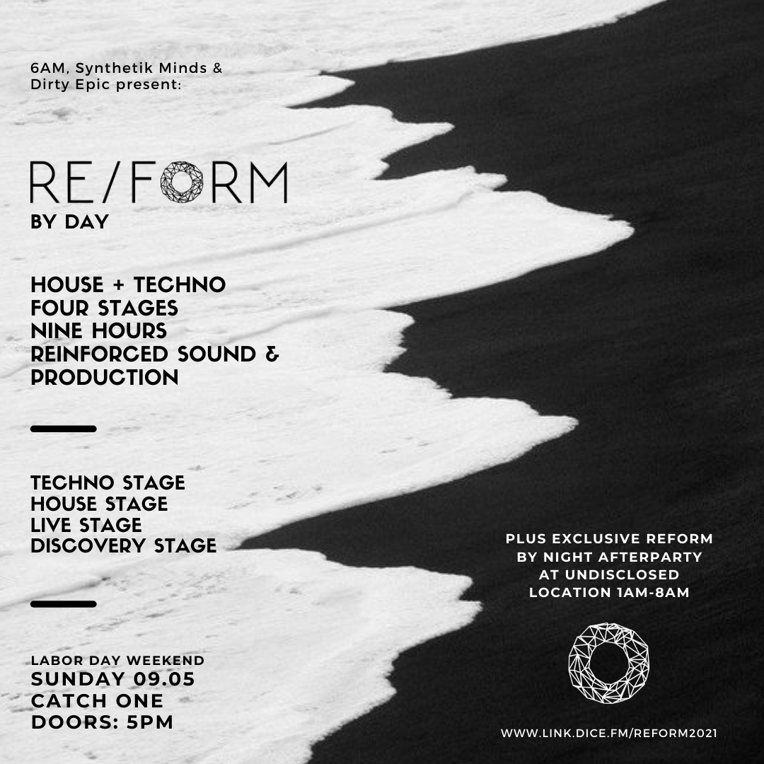 🗣 Announcing REFORM Summer 2021 on Sunday of Labor Day Weekend!  REFORM is a day-to-morning experience divided up into two separate but connected events.  🔘  4 Curated Stages 🔘  9 Hours of Music 🔘  100% American 🔘  Plus Afterparty  Tickets & info: https://t.co/REejRnMyLY https://t.co/zJP02Vzhf1