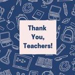 Image for the Tweet beginning: It's #TeacherAppreciationWeek and we want