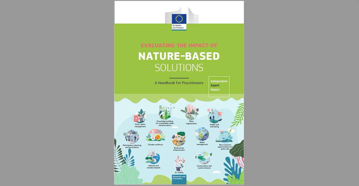 RT @NetworkNatureEU What is the impact of #naturebasedsolutions🌱❔ How to choose the best NBS for my city 🏙️❔ How to monitor and evaluate impacts of NBS🔍❔  Explore the new #NBSframework handbook to guide you to implement the best NBS ➡️ https://t.co/JzZRqPuaXt