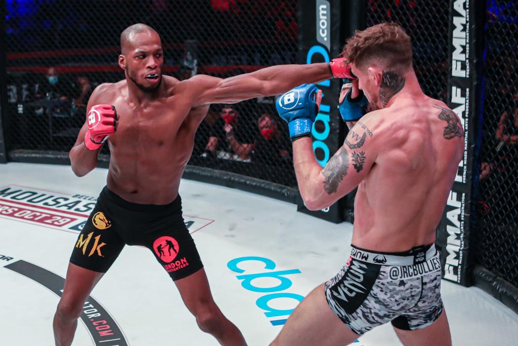 Video: Who will shine brightest at Bellator 258?   #UFCvegas19 #UFC259 #UFC260 #UFCFightnight #MMA #UFC https://t.co/xasqGlUUJh
