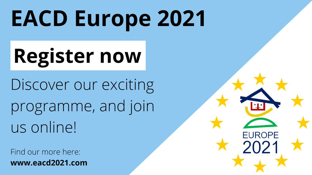 @EACD_2021 starts tomorrow, hope to see you all there @EACDtweet @AusACPDM @aacpdm @IAACDtweets @IrishDisability @FondationPC @adultcphub https://t.co/nHY7Z0bz7x