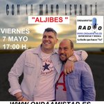 Image for the Tweet beginning: VIERNES 7 MAYO ,A LAS