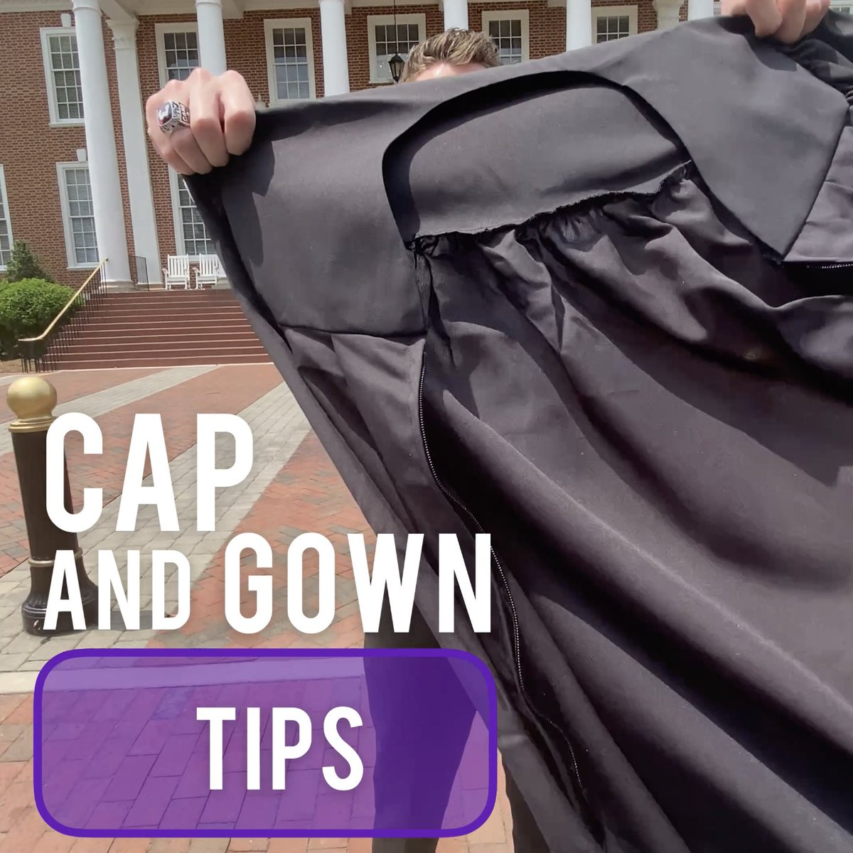 🎓 Want to look your best in that cap and gown, HPU grads⁉️ Check out this video featuring Sam Carr, '21! #HPUGrad2021 #HPUGrad2020