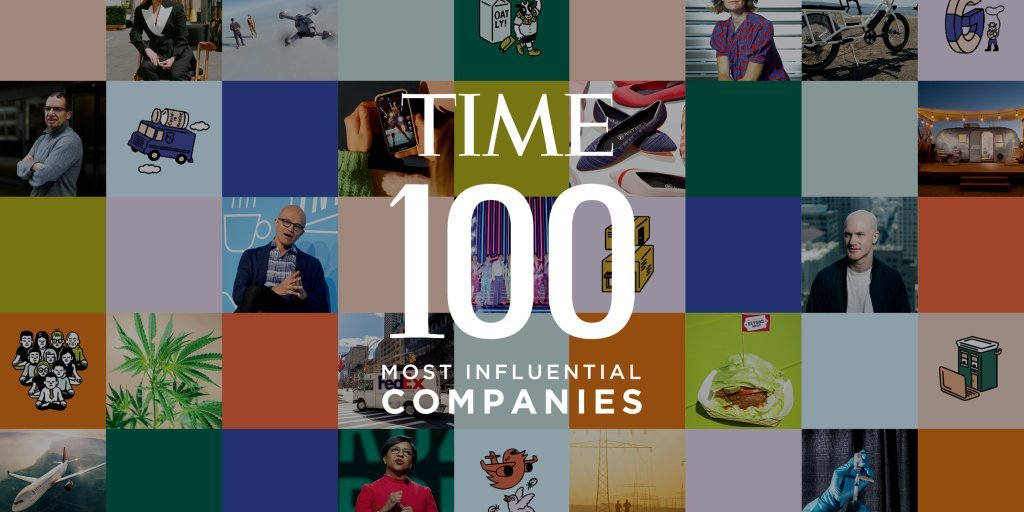 .@TIME has published the #TIME100Companies, a new list that highlights businesses making an extraordinary impact around the world.  Check out which companies are shaping our future.  👉 https://t.co/IXwZjxEM1S https://t.co/t0d4H8sKzJ