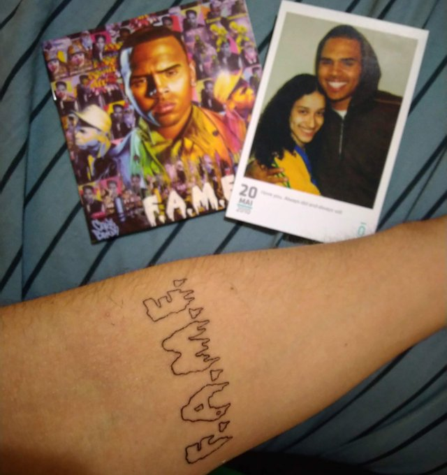 Love of my life, happy birthday CHRIS BROWN DAY