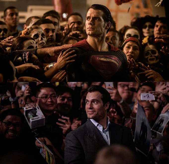 Happy Birthday, Henry Cavill.  You are our Superman.