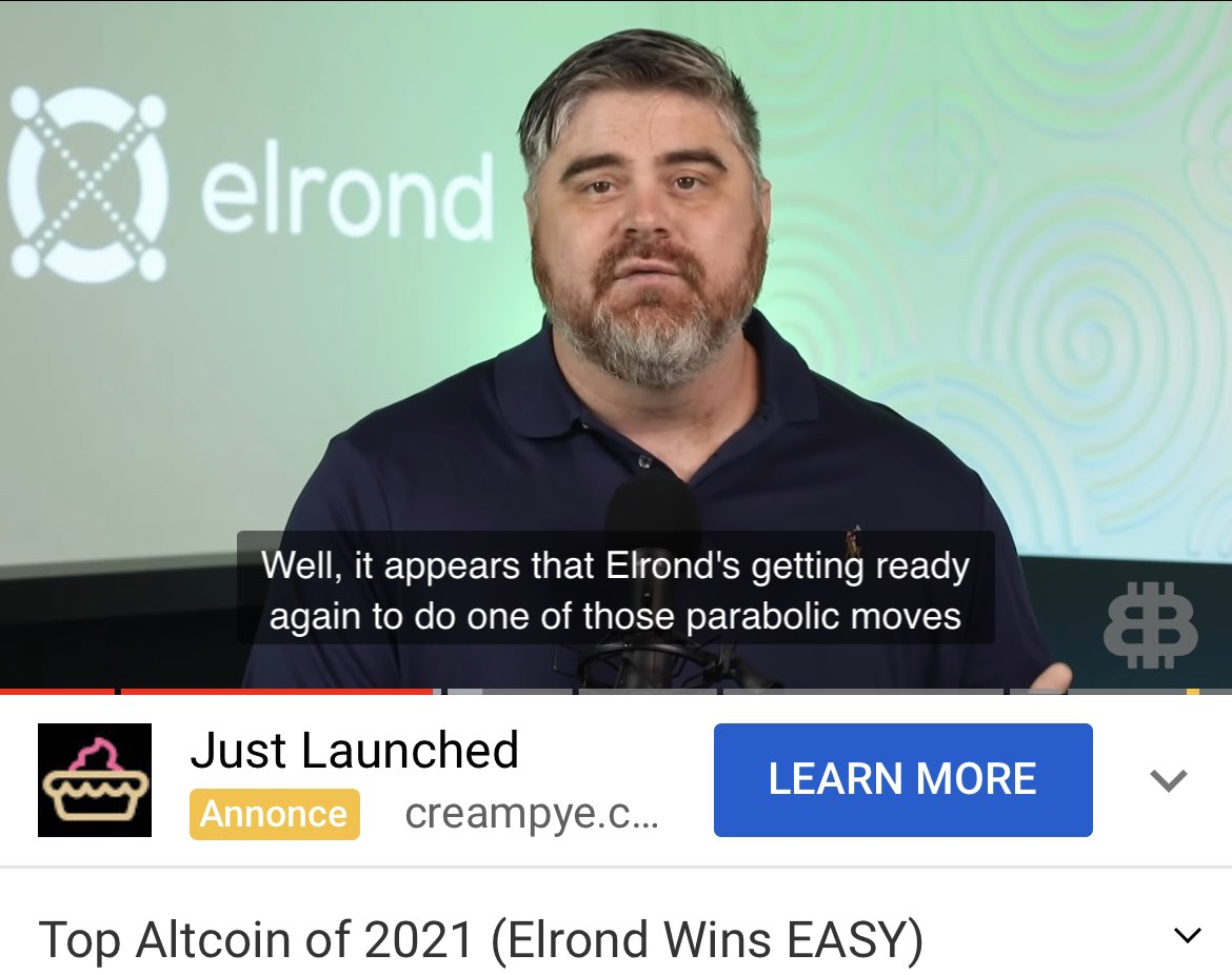 Famous @Bitboy_Crypto knows it, don't sleep on it guys, load your bags because #eGLD is going parabolic 🌊 🚀 ⚡️  @ElrondNetwork  @beniaminmincu @ElrondWarriors @ElrondFrance  @DrElrond123  @Themask610  @adamsaunders5  @ThePalmTreeNW  @ElrondPartners https://t.co/2zLA1fQnRl