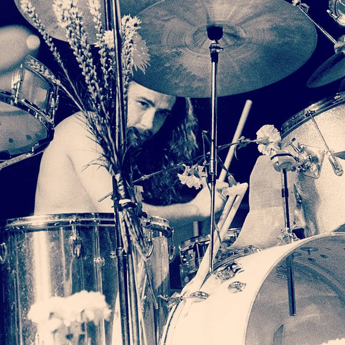 Happy 73rd birthday to Black Sabbath\s Bill Ward! You are the heart of the band, now and forever.