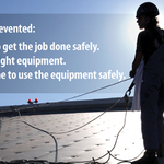 Image for the Tweet beginning: It's #ConstructionSafetyWeek and we are