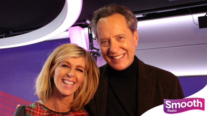 Happy 64th birthday, Here he is in the Smooth studio with Kate Garraway in 2019.