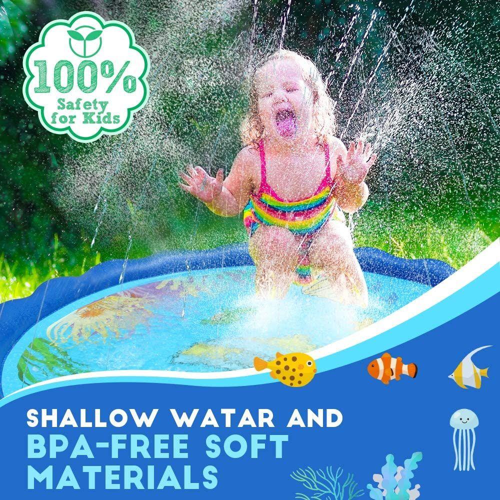ad: $15.99 (47% off)   Sprinkler Splash Pad   Link0 Link0